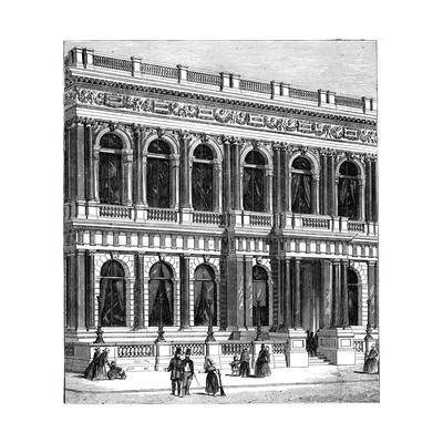 The Carlton Club, London, 1891