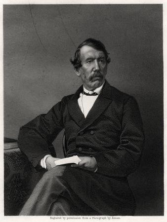 David Livingstone, Scottish Missionary and African Explorer, 19th Century