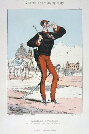 Eclaireurs Franchetti, Siege of Paris, 1870-1871
