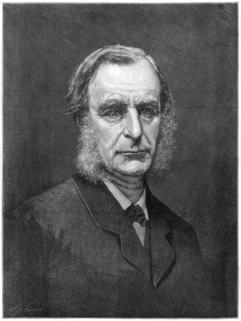 Reverend Charles Kingsley, English Cleric and Writer, 1875