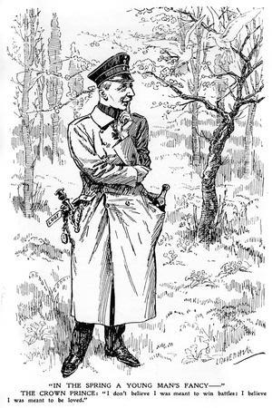 In the Spring a Young Man's Fancy..., First World War
