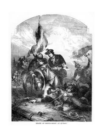 The Death of General Richard Montgomery at Quebec, 1775