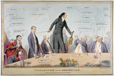 Fiddlestick Versus Broomstick, 1831