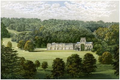 Milton Abbey, Dorset, Home of Baron Hambro, C1880