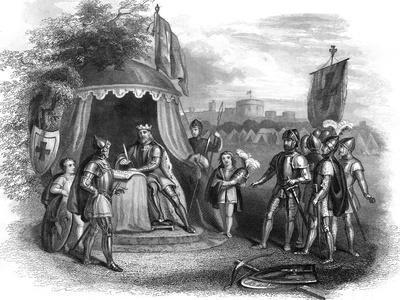 King John Signing the Magna Carta, Runnymede, Surrey, 1215
