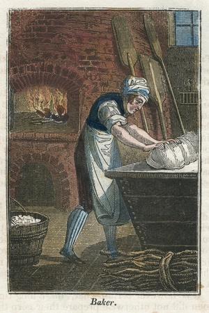 The Baker Kneading Dough on the Lid of a Flour Bin, 1823
