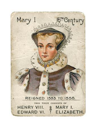 Queen Mary I (1516-155), 1901-1910