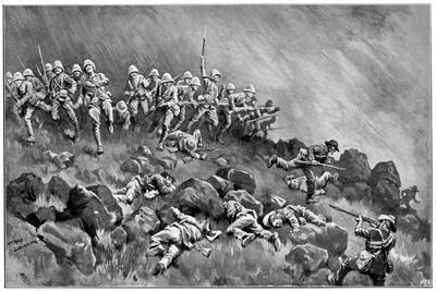 Assault on Wagon Hill, 2nd Boer War, 6 January 1900