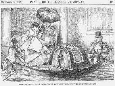 What it Must Have Come To, If the Rain Had Continued Much Longer!, 1860