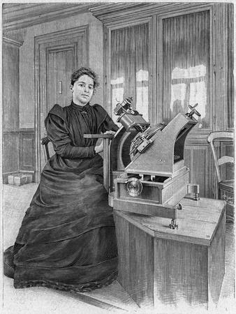 Dorothea Klumpke Roberts, American Mathematician and Astronomer, 1903
