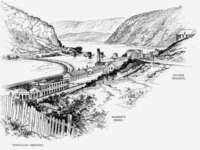 Harper's Ferry, West Virginia, C1870
