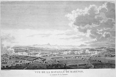 View of the Battle of Marengo at the Moment of Victory, 1800