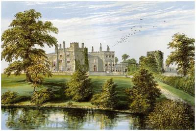 Ripley Castle, Yorkshire, Home of Baronet Ingilby, C1880