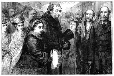 The Visit of Queen Victoria (1819-190) to Hughenden Manor, High Wycombe, 1877