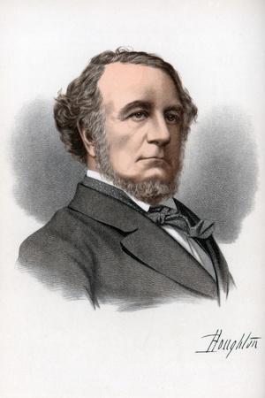 Richard Monckton Milnes, 1st Baron Houghton, English Poet and Politician, C1890
