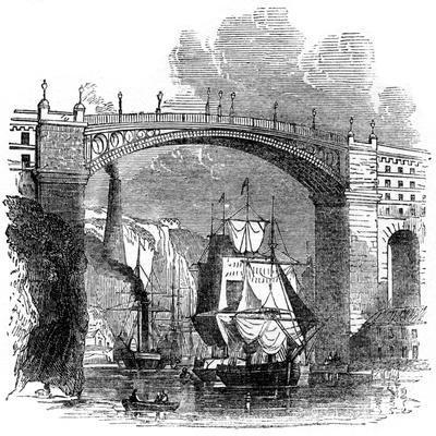 Iron Bridge at Sunderland, 1886