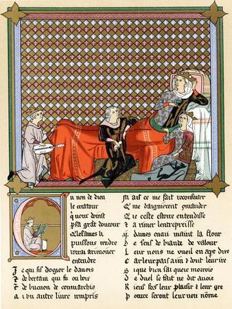 Adenet Le Roi, King of the Minstrels, 13th Century