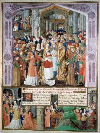 The Marriage of Blanche and Fernando, 1269