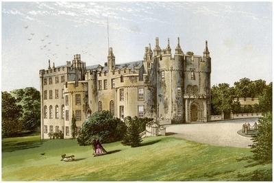 Picton Castle, Pembrokeshire, Wales, Home of the Phillips Family, C1880