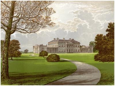 Castle Coole, Enniskillen, County Fermanagh, Home of the Earl of Belmore, C1880