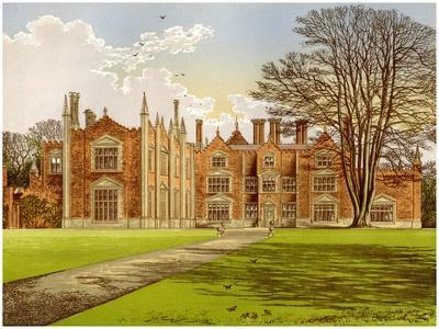 Witchingham Hall, Norfolk, Home of Viscount Canterbury, C1880