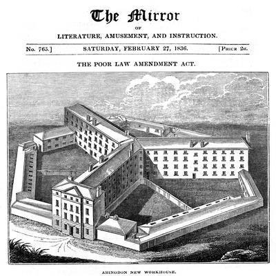 Abingdon Workhouse, Oxfordshire, Built for the Abingdon Union, 1836