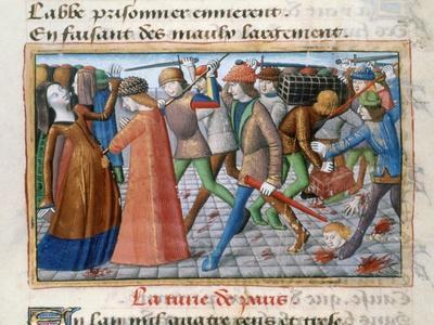 Massacre of the Inhabitants of Paris, May 1413, (148)