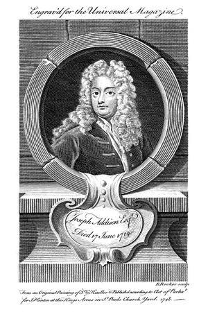 Joseph Addison, English Politician and Writer