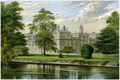 Wilton House, Wiltshire, Home of the Earl of Pembroke and Montgomery, C1880