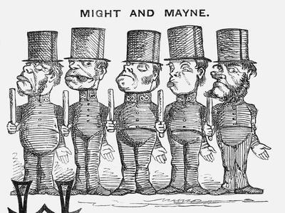 Might and Mayne, 1858