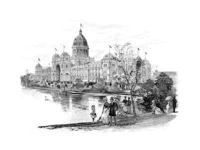 Melbourne Exhibition Building, Victoria, Australia, 1886