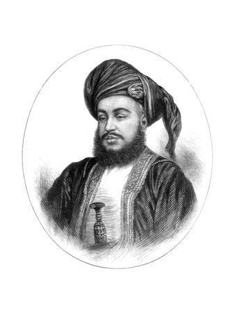 Sayyid Barghash Bin Said, Sultan of Zanzibar, 1875