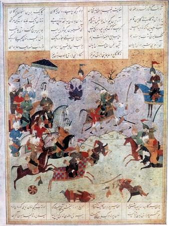 Battle Between Alexander and the Persian King Darius III, 4th Century BC