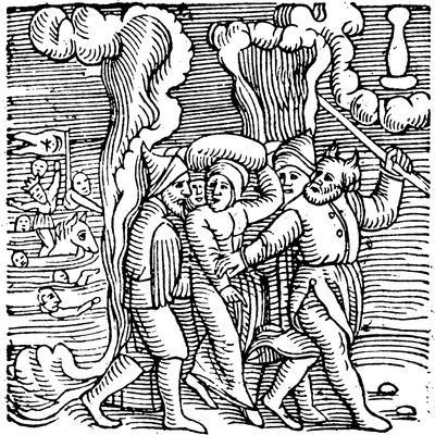 Moses Delivering the Israelites from Egypt, 1557