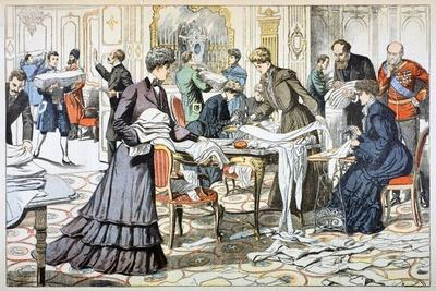 Workroom in the Winter Palace, St Petersburg, 1904