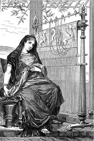 Penelope and Her Loom, 1886