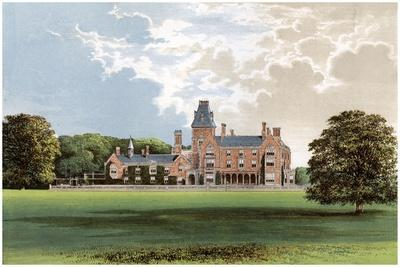 Hemsted Park, Near Staplehurst, Kent, Home of Viscount Cranbrook, C1880
