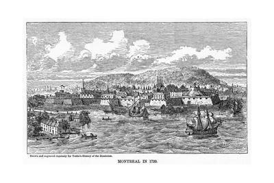 Montreal in 1729
