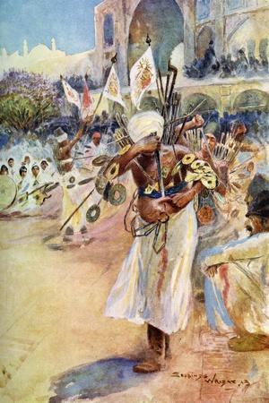 The Muharram Festival, Persia