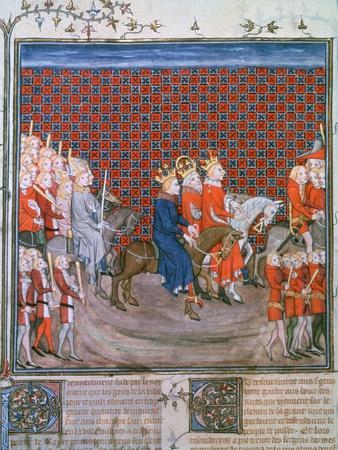 King Charles IV Entering Paris, (1375-137)