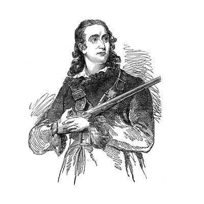 John James Audobon (1780-185), American Ornithologist and Artist, 1851
