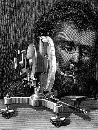 William Wollaston's Reflecting Goniometer for Measuring the Angles of Crystals, 1874