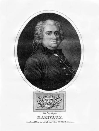 Pierre Carlet De Chamblain De Marivaux, French Novelist and Dramatist