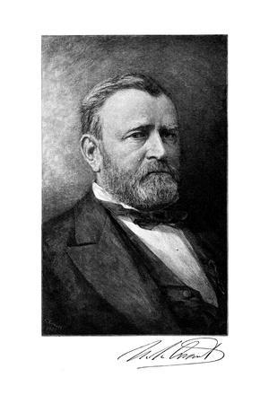 Ulysses S Grant, American Soldier and Statesman, Late 19th Century
