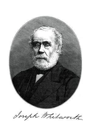Joseph Whitworth, British Engineer, Entrepreneur and Inventor, C1880