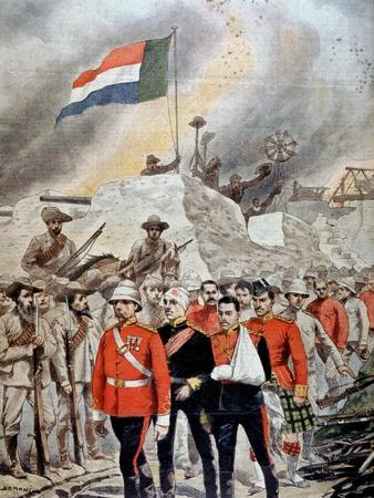 Fall of the British Garrison at Jamestown, South Africa, Boer War, 1901
