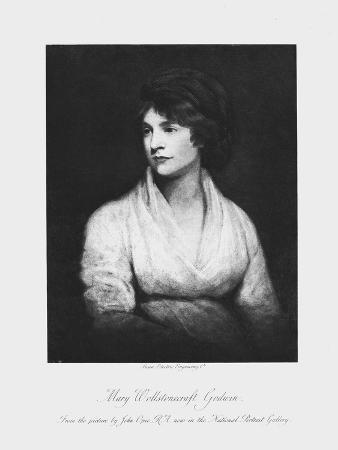 Mary Wollstonecraft, 18th Century Anglo-Irish Writer and Feminist