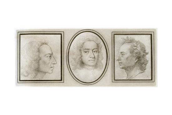 Alexander Pope English Poet And Satirist 18th Century Giclee