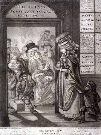 The Lottery Contrast, 1760