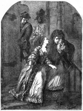 Escape of the Earl of Nithsdale from the Tower of London, 1716